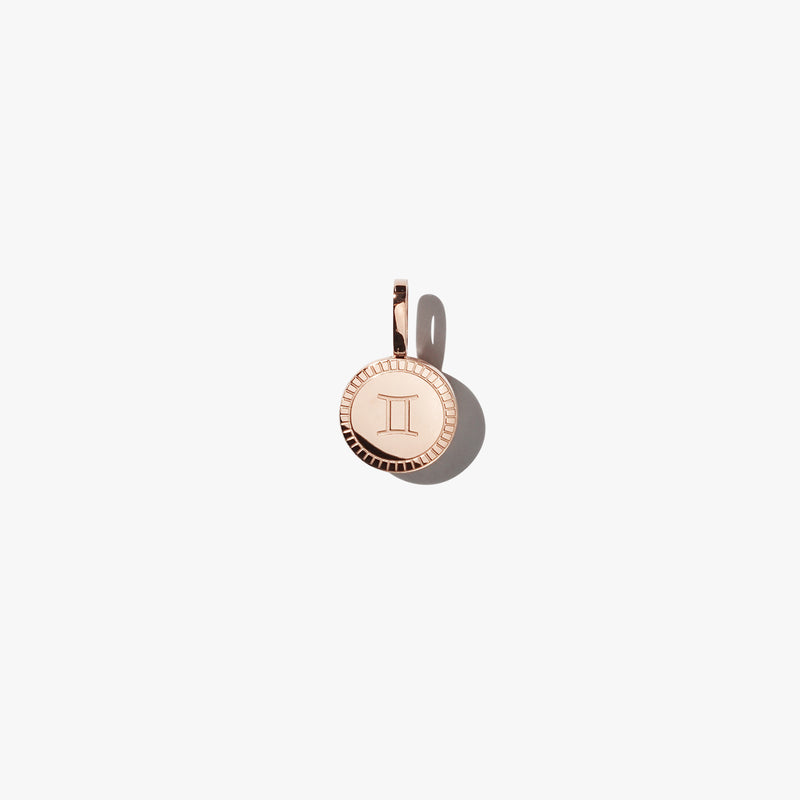 Gemini Pendant - Rose Gold