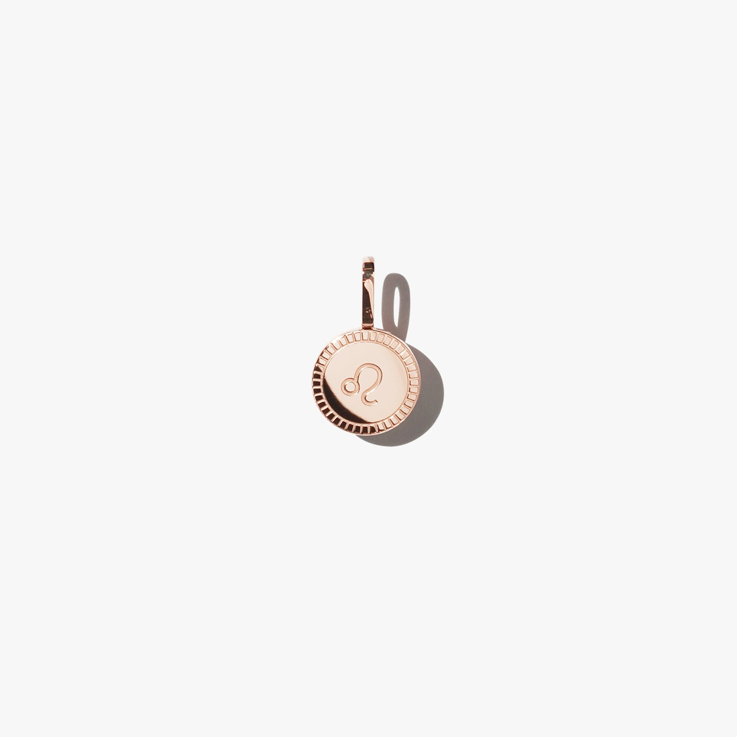 Leo Pendant - Rose Gold