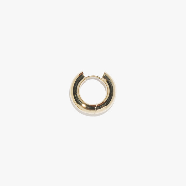 Chunky Infinity Hoop (Single) - Gold