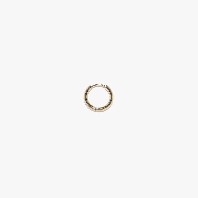Mini Infinity Hoop (Single) - Gold