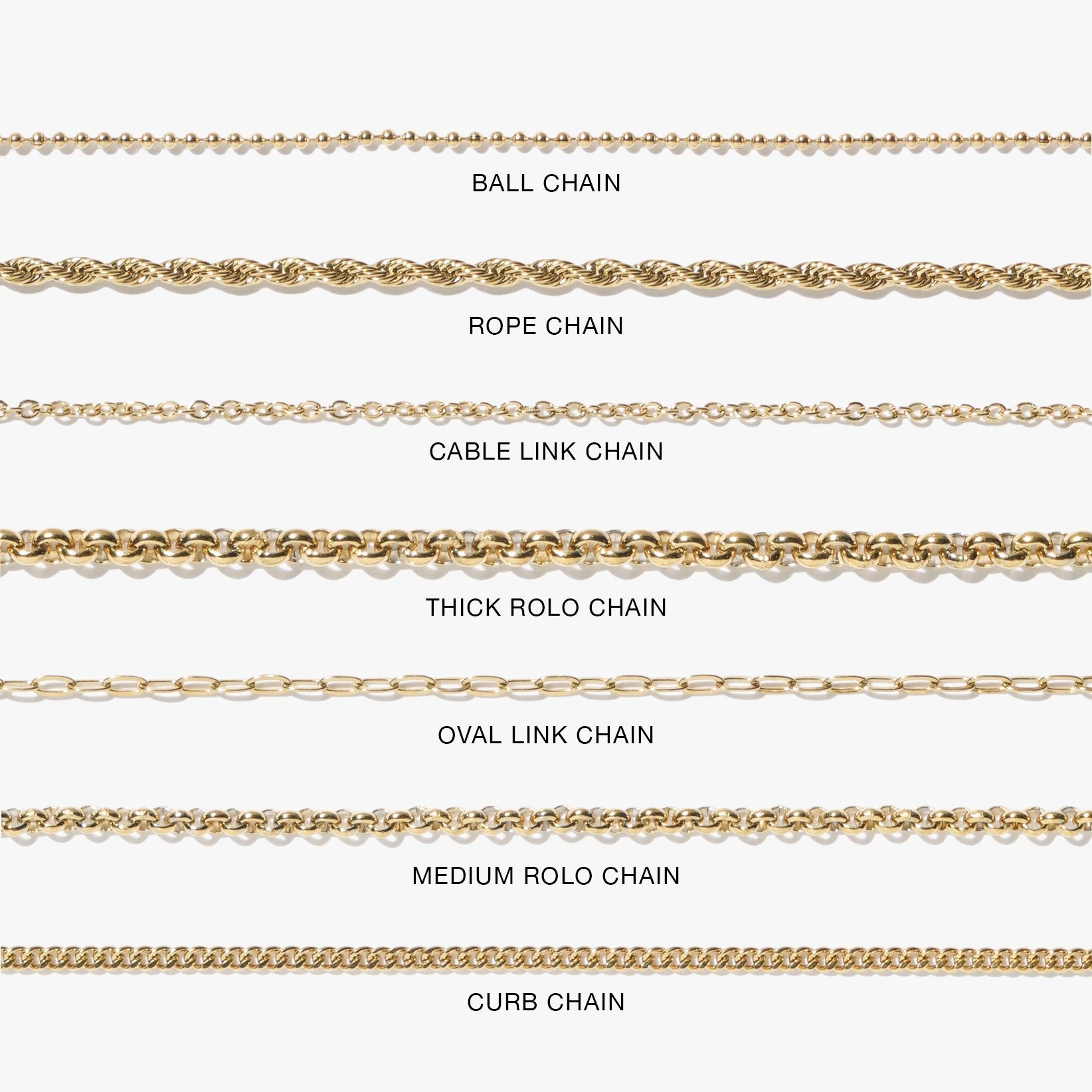 Ball Chain Anklet - Gold