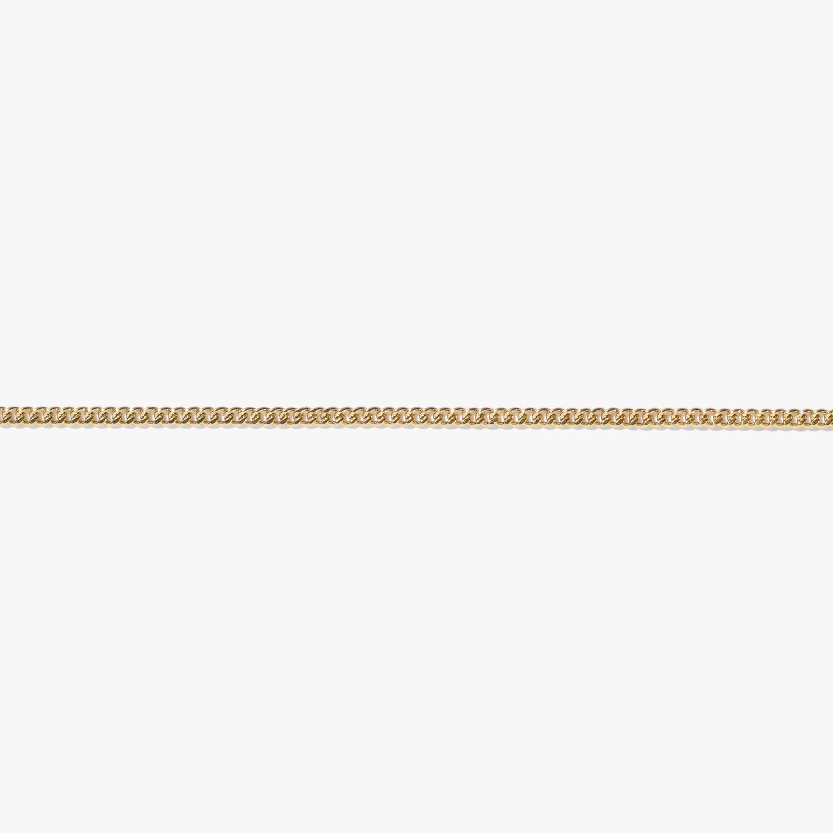 Curb Chain Anklet - Gold