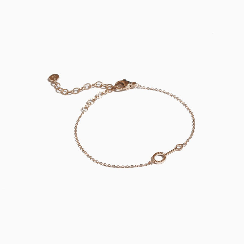 'Bubble Wand' Bracelet - Rose Gold