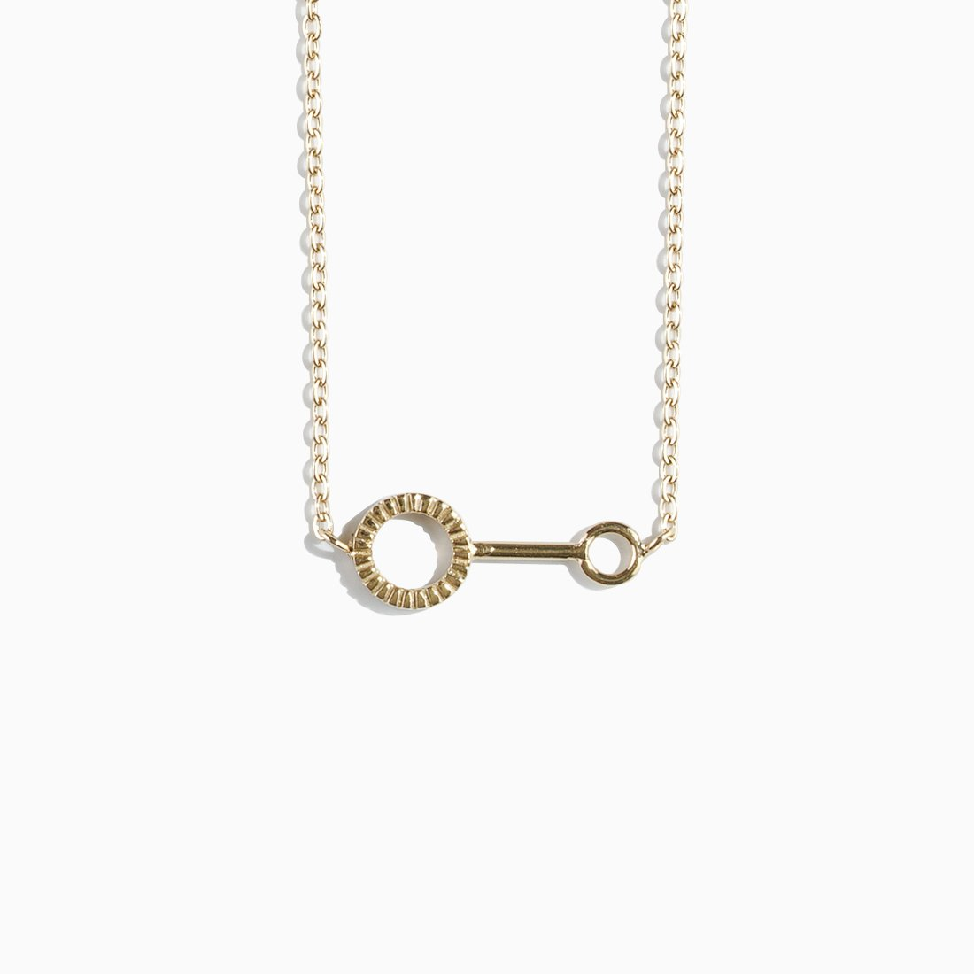 'Bubble Wand' Necklace - Gold