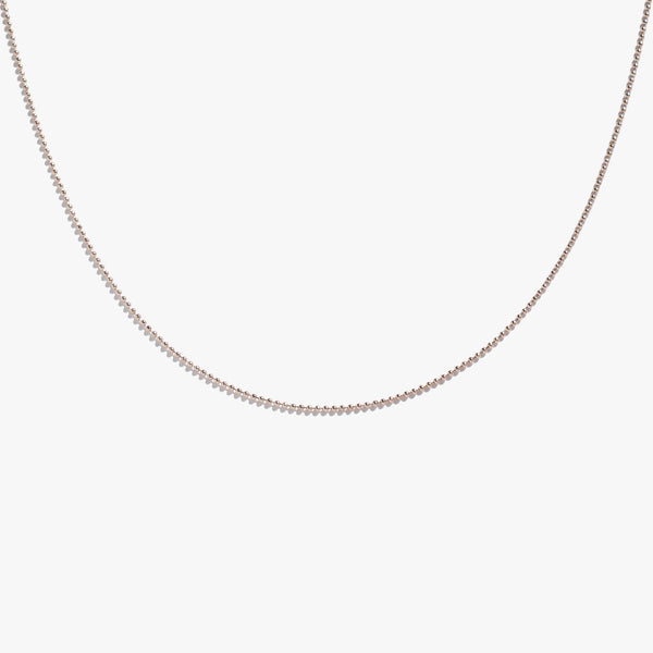 Chains - Ball Link Chain - Rose Gold