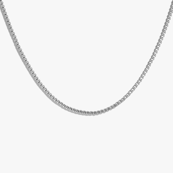 Chains - Box Chain - Silver