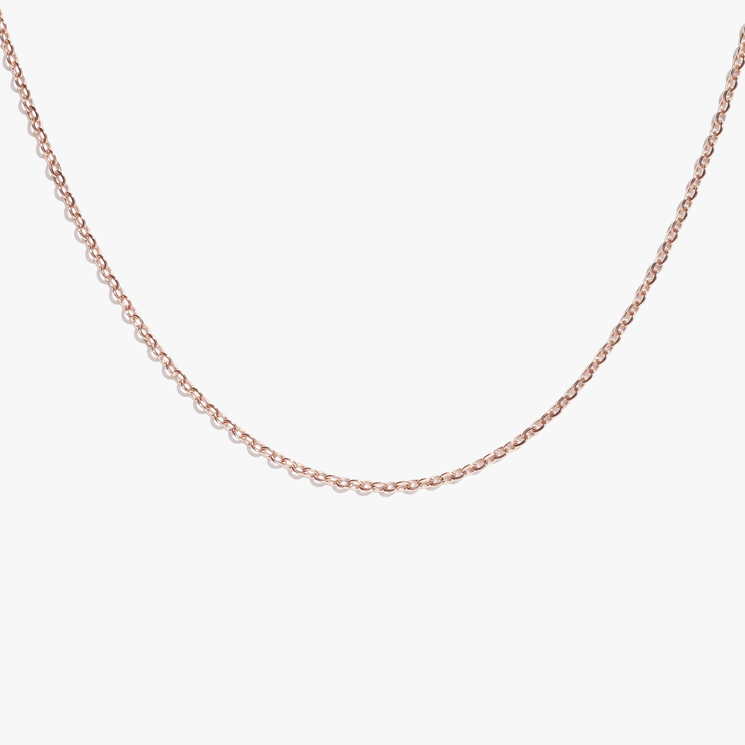 Cable Link Chain - Rose Gold
