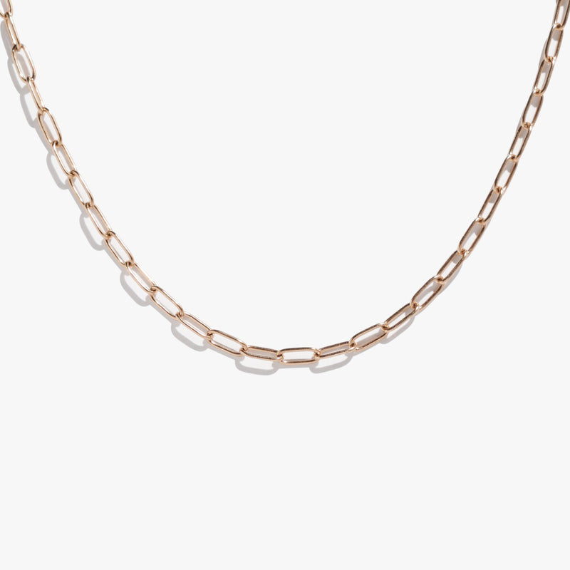 Chains - Large Link Chain - Rose Gold