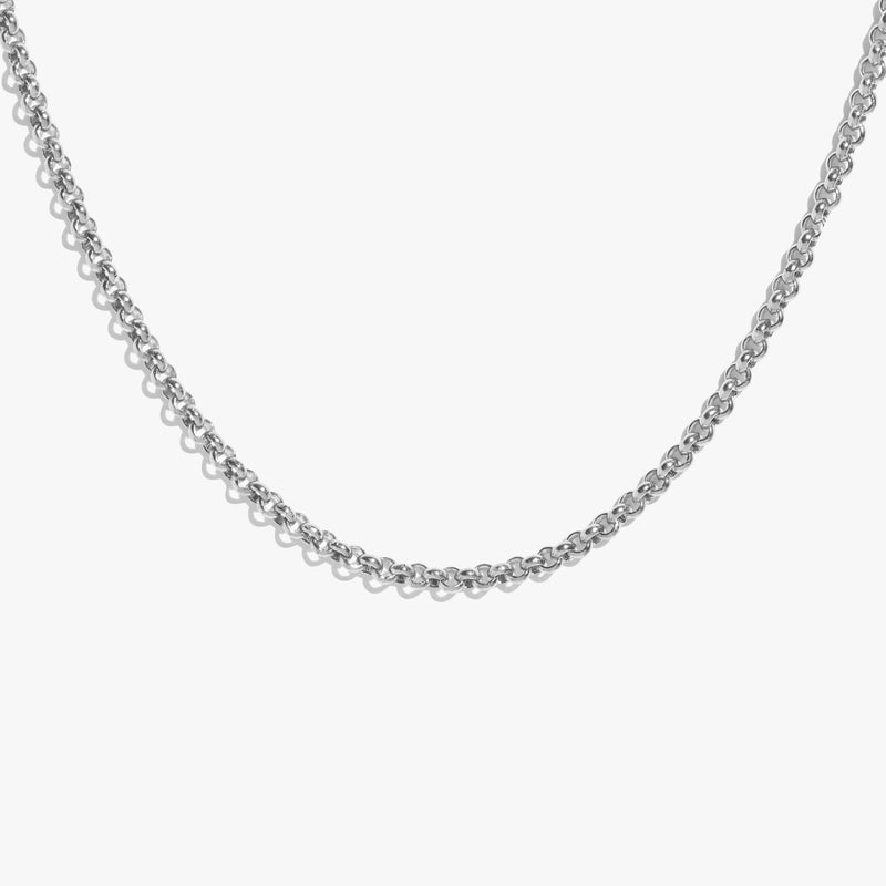 Medium Rolo Chain - Silver