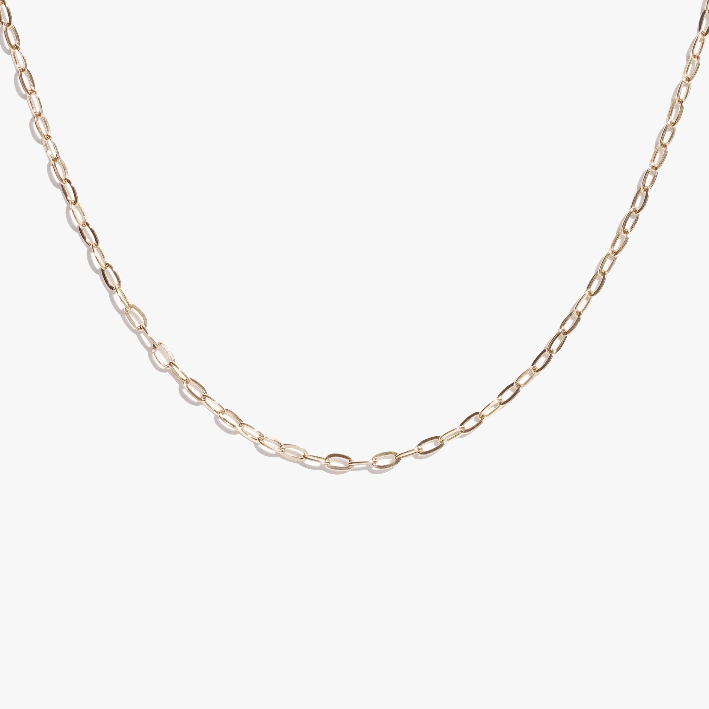 Chains - Oval Link Chain - Gold
