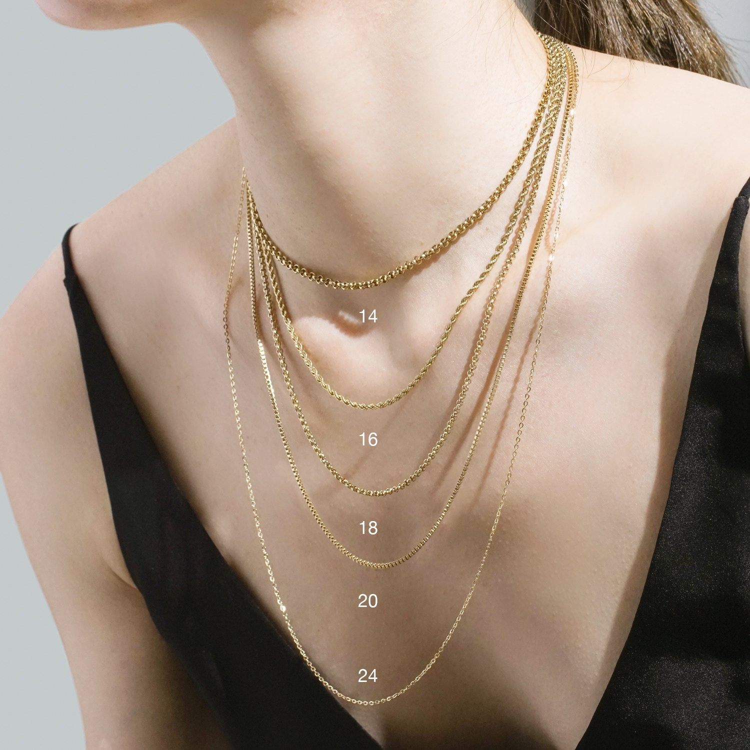 Rope Chain - Rose Gold