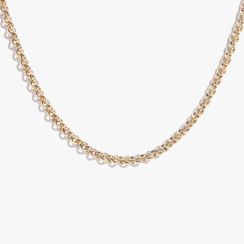 Chains - Thick Rolo Chain - Gold