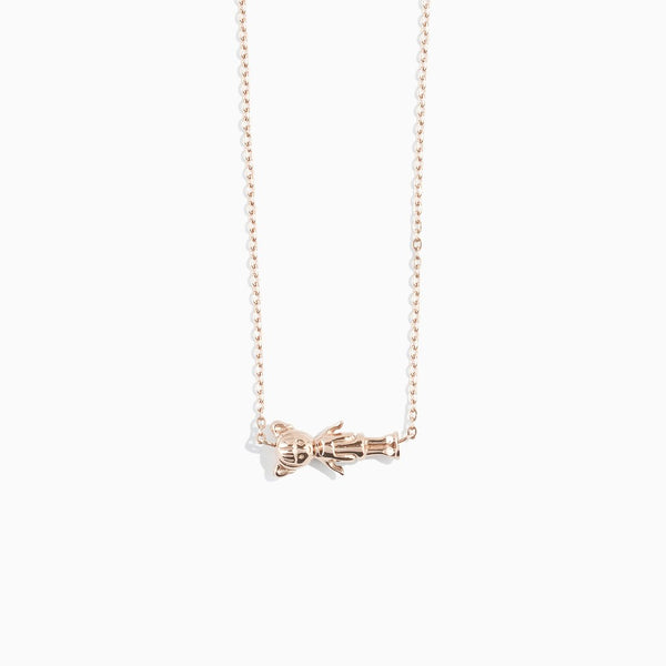 'Dollfriend' Necklace - Rose Gold