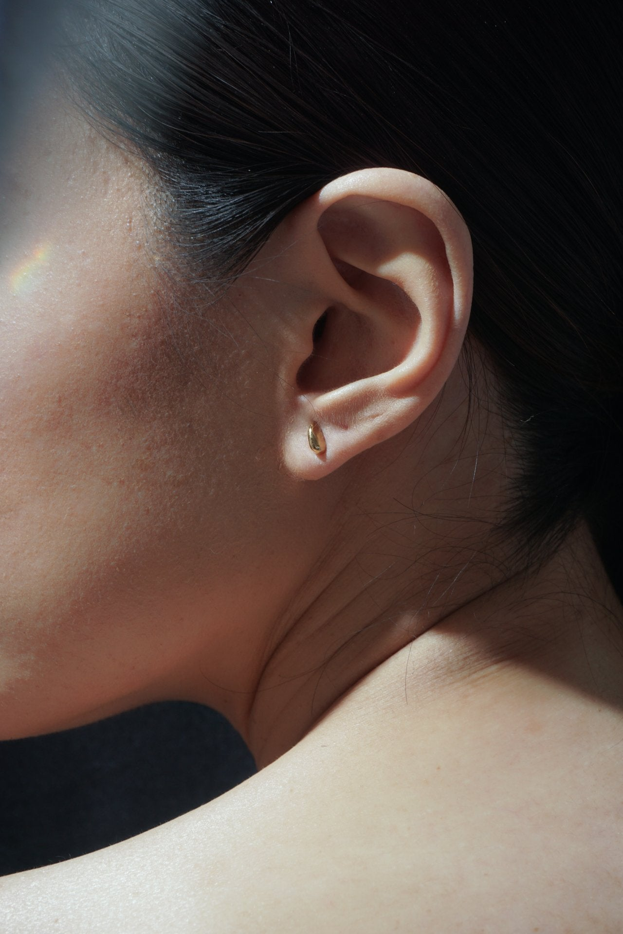 Earrings - Asteroid Stud - Gold