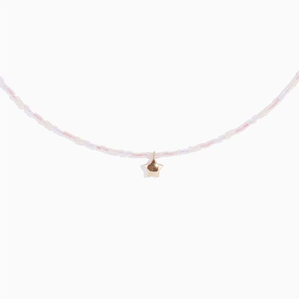 'Grungette Star' Choker - Rose Gold