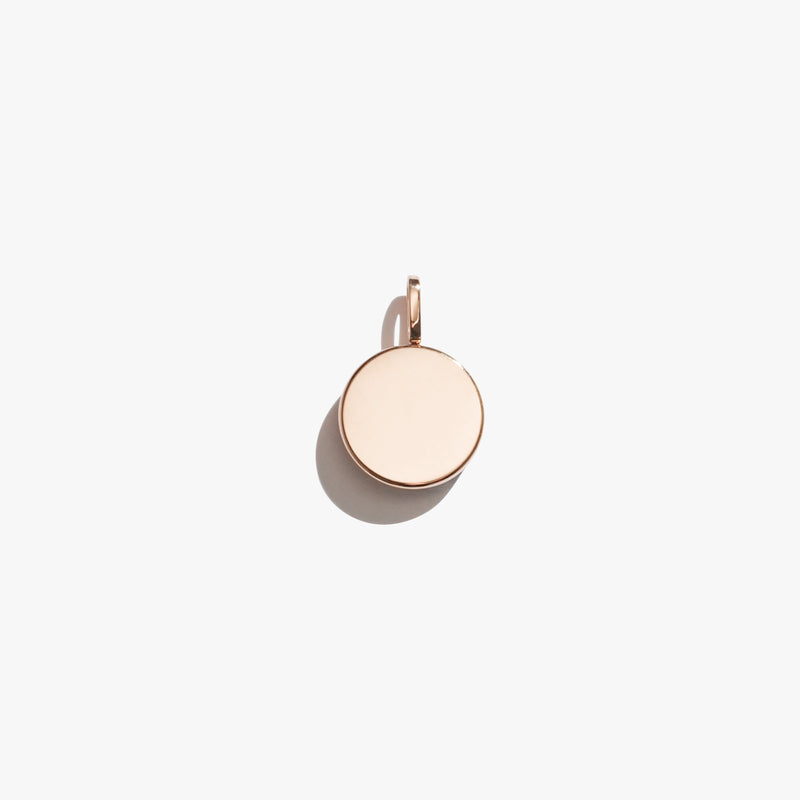 Pendant - Circle Pendant - Rose Gold