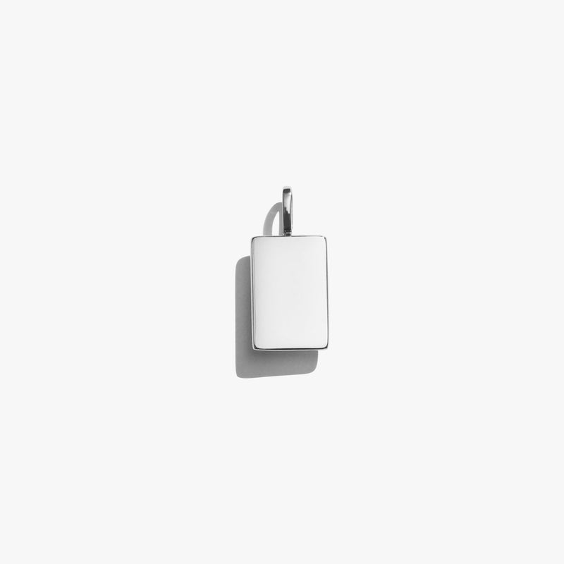 Pendant - Rectangle Pendant - Silver