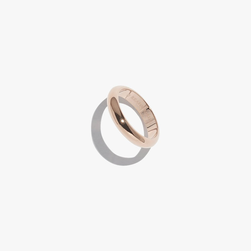 Rings - Basic Object Band - Rose Gold