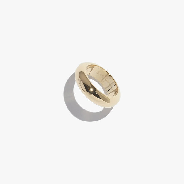 Rings - Chunky Object Band - Gold