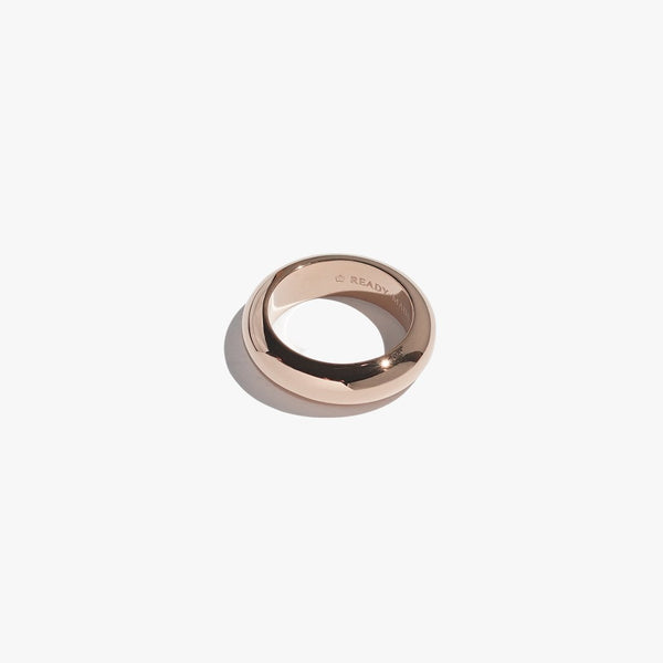 Rings - Chunky Object Band - Rose Gold