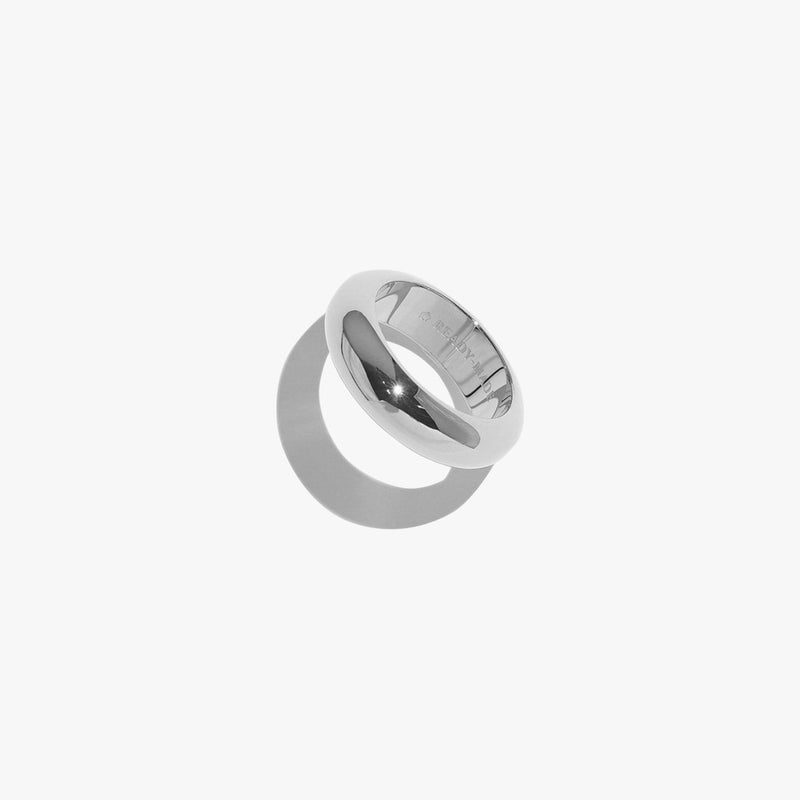 Rings - Chunky Object Band - Silver