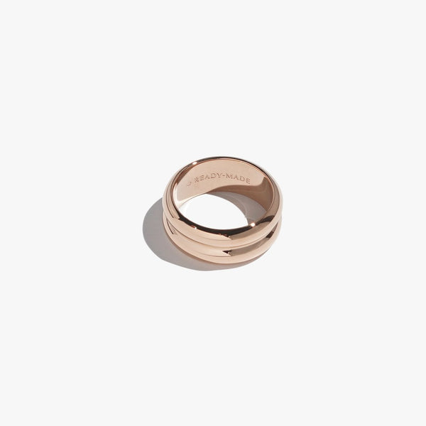 Rings - Cloned Object Band - Rose Gold