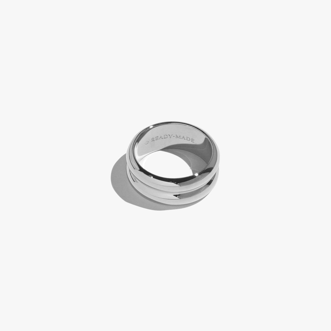 Rings - Cloned Object Band - Silver