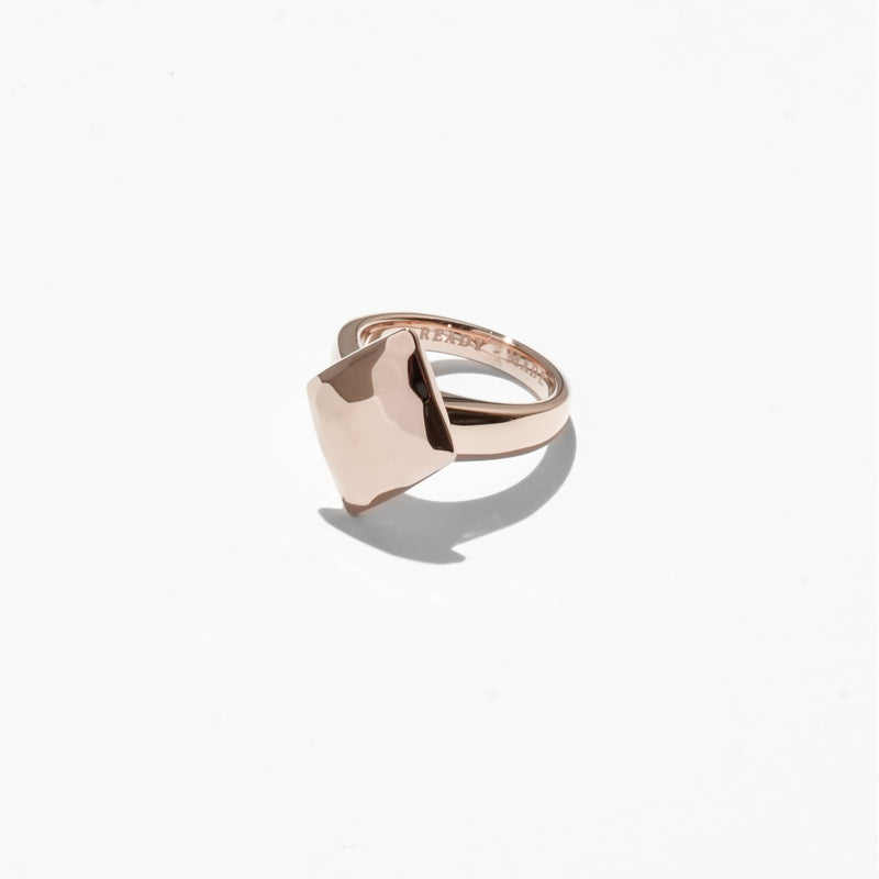 Rings - Diamond Cut Jelly Ring - Rose Gold