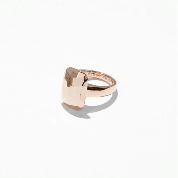 Rings - Emerald Cut Jelly Ring - Rose Gold