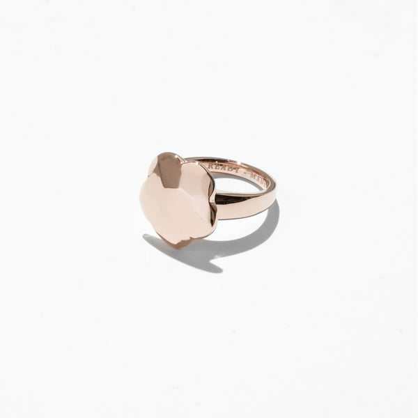 Flower Cut Jelly Ring - Rose Gold