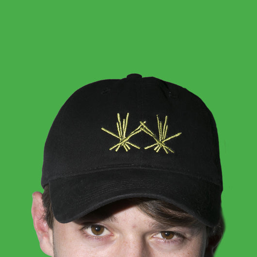 Marston Fries Black Embroidered Hat