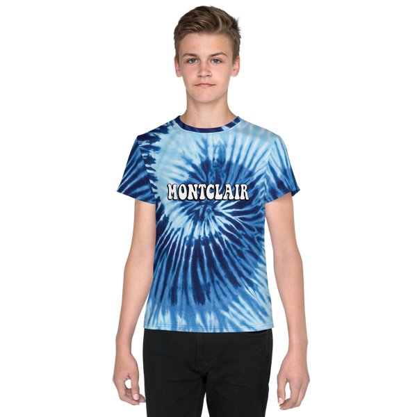 The Hippie - True Blue - Faux Tie Dye - Unisex Youth T-Shirt