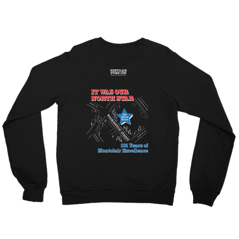 Washington St Y Commemorative - Unisex California Fleece Raglan Sweatshirt