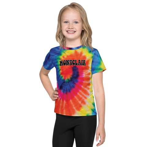 The Hippie - Rainbow - Faux Tie Dye - Unisex Kids T-Shirt