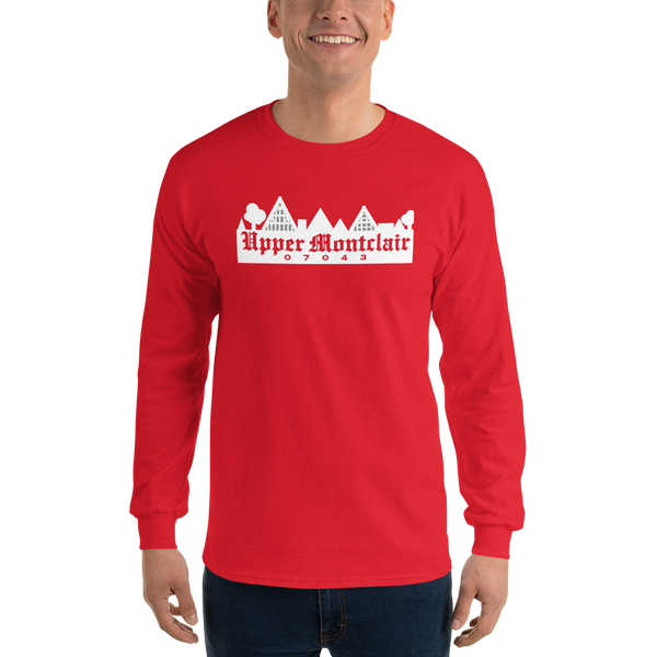 Upper Montclair 07043 - Dark Long Sleeve T-Shirt
