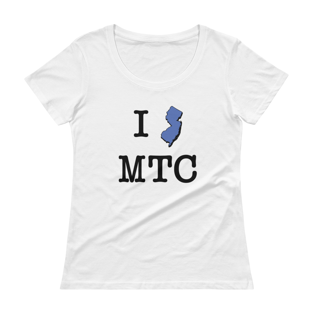 I NJ MTC - Ladies' Scoopneck T-Shirt