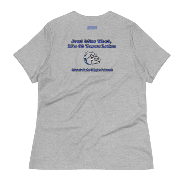 MHS Class of 1979 - Women's Relaxed T-Shirt