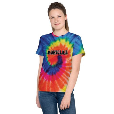 The Hippie - Rainbow - Faux Tie Dye - Unisex Youth T-Shirt