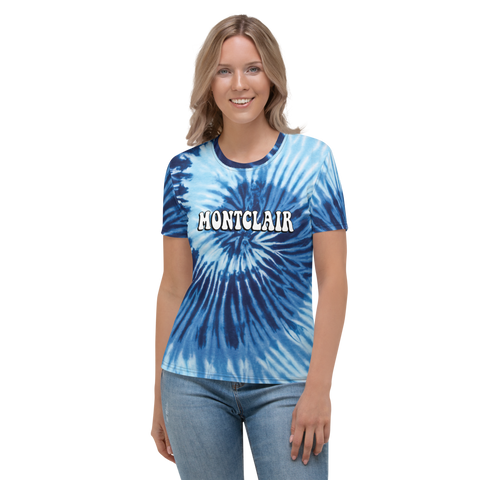 The Hippie - True Blue - Faux Tie Dye - Women's T-shirt