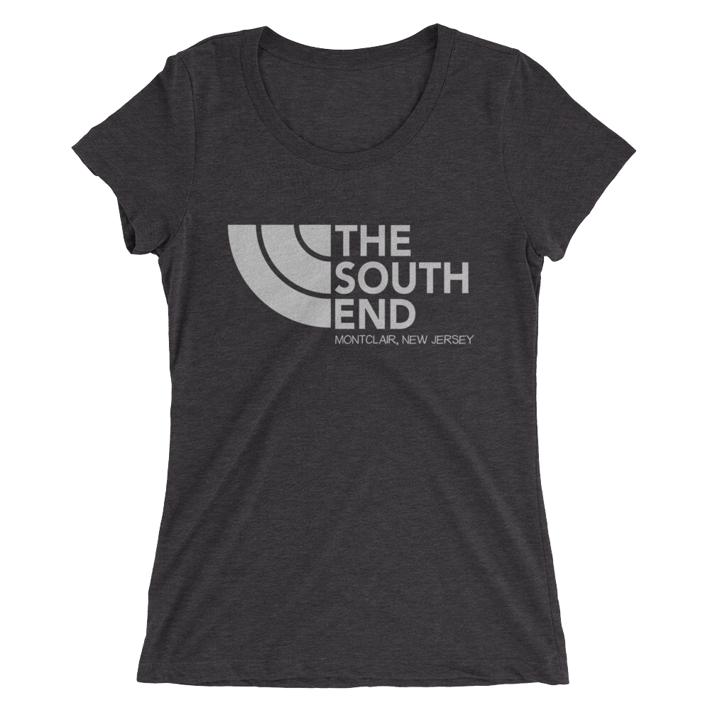 The South End - Ladies' Tri Blend short sleeve t-shirt (dark)