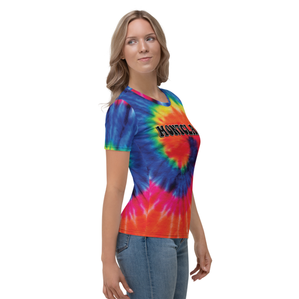 The Hippie - Rainbow - Faux Tie Dye - Women's T-shirt