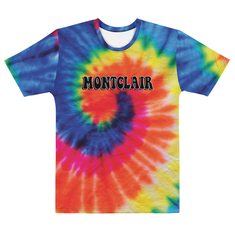 The Hippie - Rainbow - Faux Tie Dye - Men's T-shirt