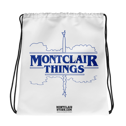 Montclair Things - Drawstring bag
