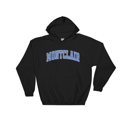Arched/Big M- Dark Hooded Sweatshirt