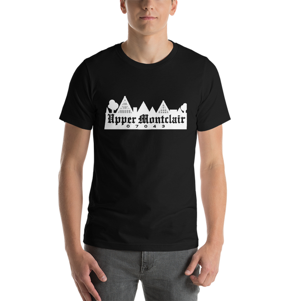 Upper Montclair 07043 - Dark Short-Sleeve Unisex T-Shirt