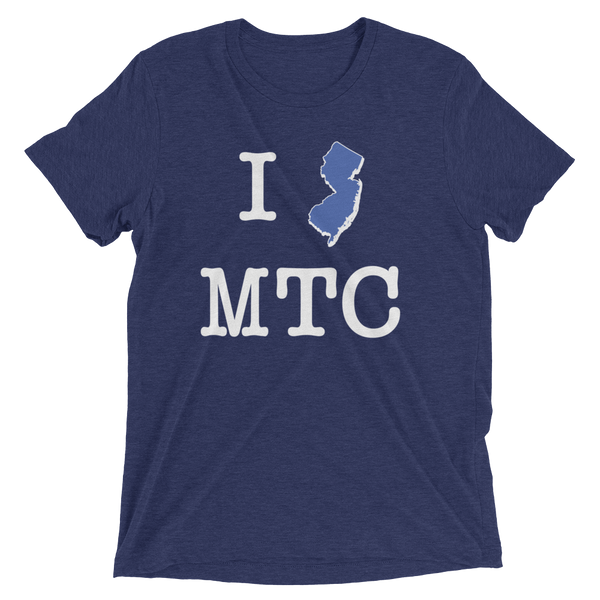 I NJ MTC - Bella+Canvas - Tri-Blend Unisex Short sleeve t-shirt (dark)