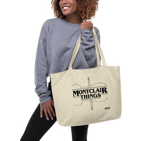 Montclair Things - Large organic tote bag