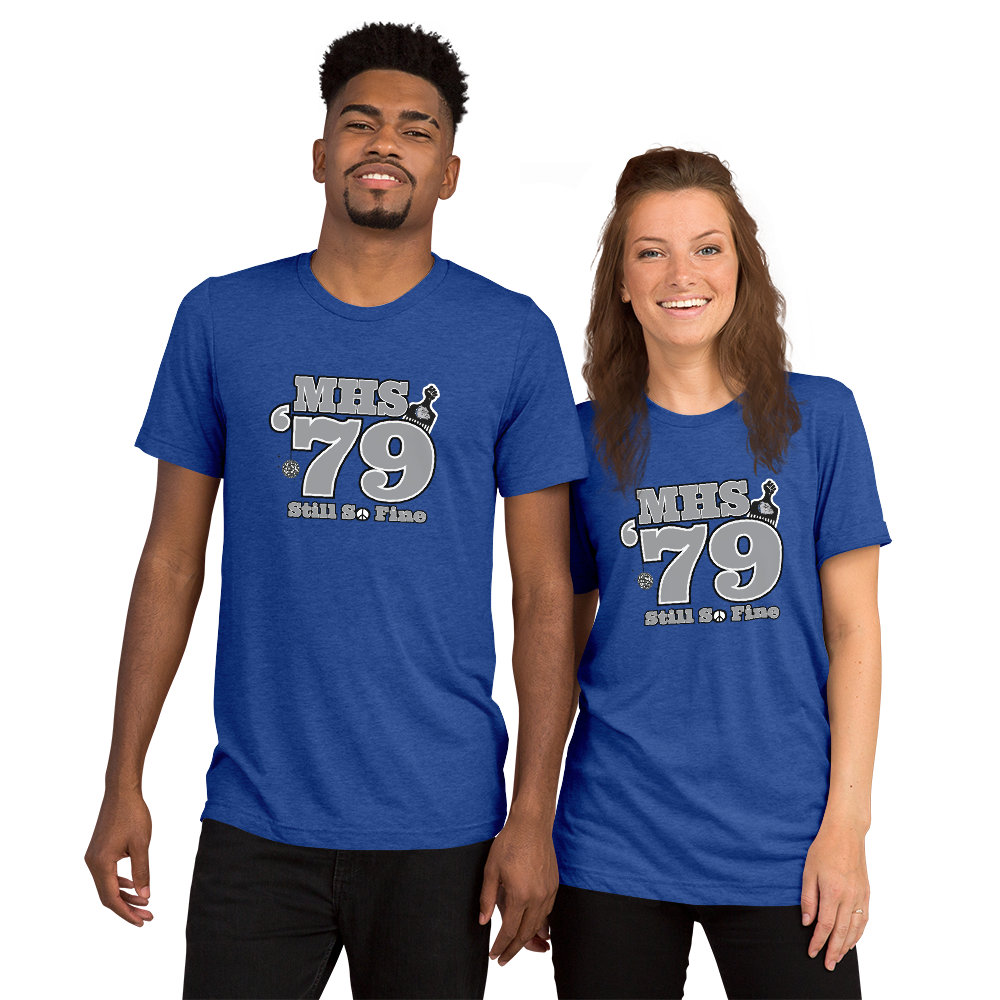 MHS Class of 1979 - Unisex Tri-Blend Short sleeve t-shirt