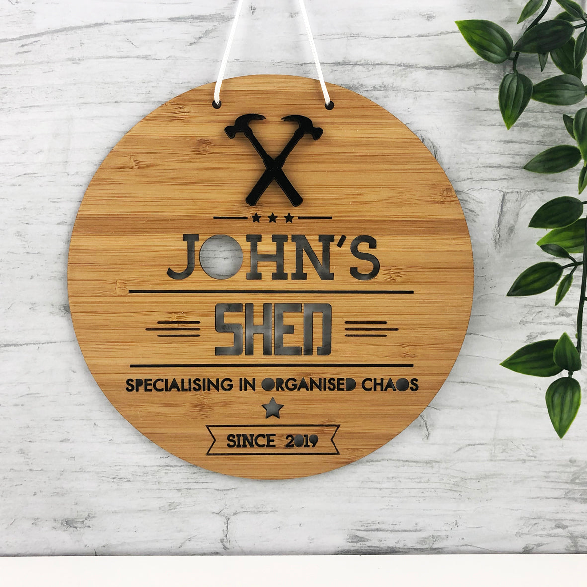 Shed 3D Personalised Wall Hanging
