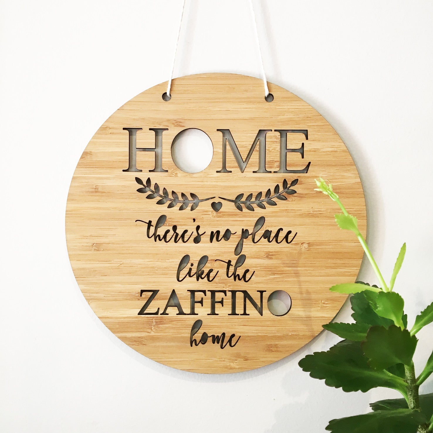 INo Place Like Home Wall Plaque (main).jpg